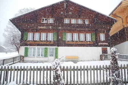 Sunny situated apartment in a beautiful wooden chalet