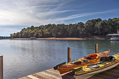 5BR Anderson House on Lake Hartwell w/Dock - Anderson - Ev