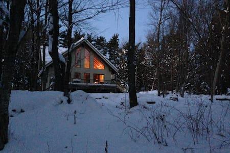 New Timberframe Home in Berkshires - Casa