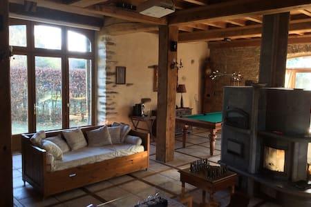 Magnifique maison familiale pour 10 - Le Mesnil Rogues - Rumah