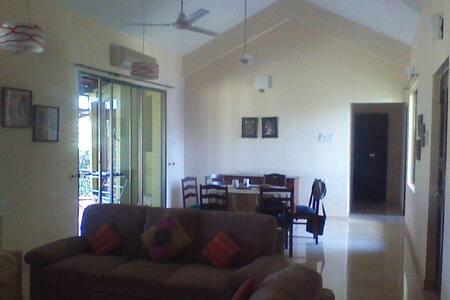 Goa apartment-perfect for families!