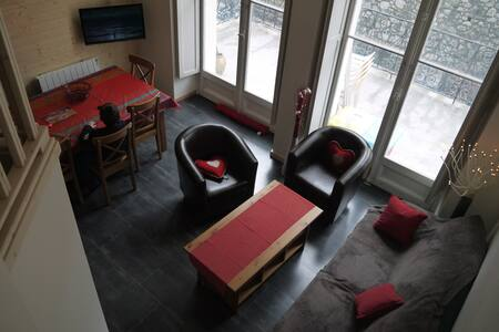Charming apartment in Cauterets - Cauterets - Apartament
