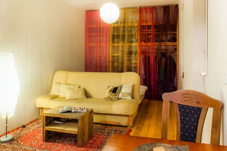 Studio flat with an amazing aura. - Daire