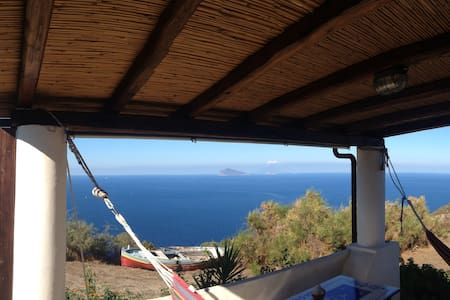 Secluded cottage in Lipari islands
