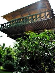 Tree house type accommodation