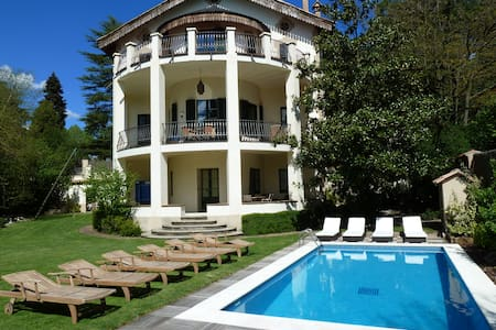 Huge villa, pool, mountain town - Viladrau