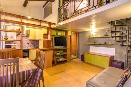 Comfrtable Loft in Pantheon Zone - Roma - Apartment
