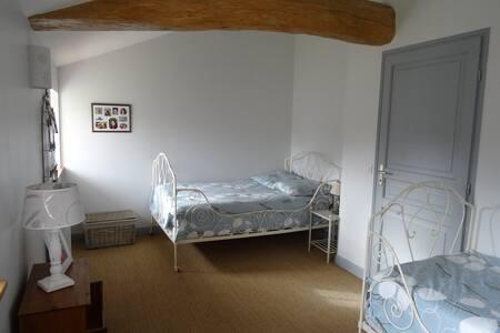 2 chambres pour  4 à la campagne - Bed & Breakfast