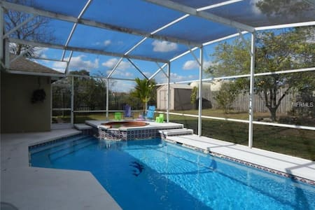 Pool Home 10 Mins From Disney-twin