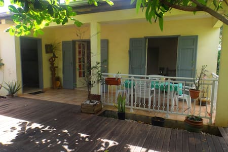 Villa, spa, ocean and exotic garden - Saint Andre