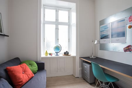 Cosy and spacious centrally located apartment! - Frederiksberg - Apartment