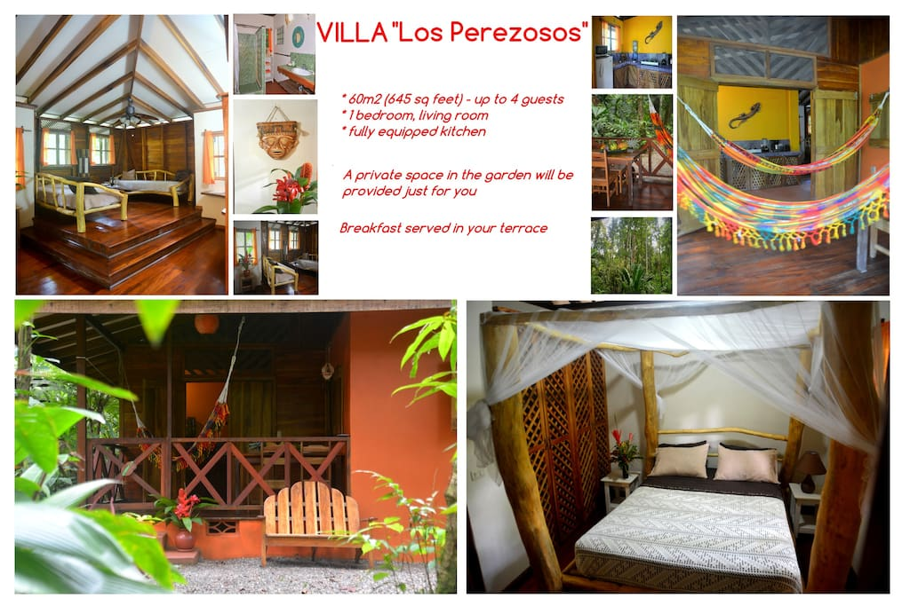 Villa between Jungle and Beach -B&B