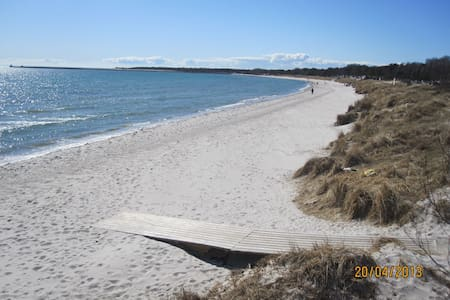 100 m from the beautiful Kämping beach - Kabin