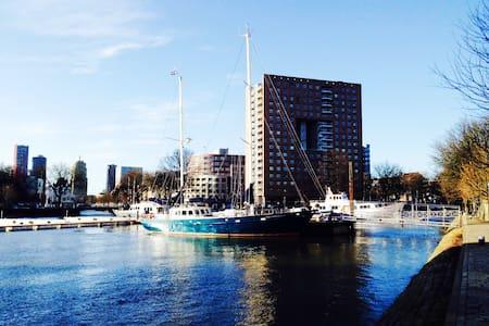 Luxe en gezellige privé-jacht - Rotterdam
