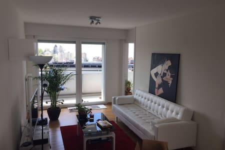 10mn by foot from town & lake view - Lausanne - Apartmen