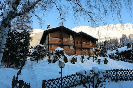 "Ski-in Ski-out Condo at ""Le Rouge"" - Bagnes - Apartment"