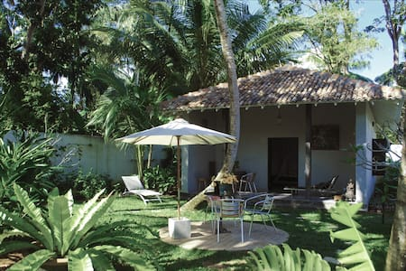 Private Tropical Garden Chalet