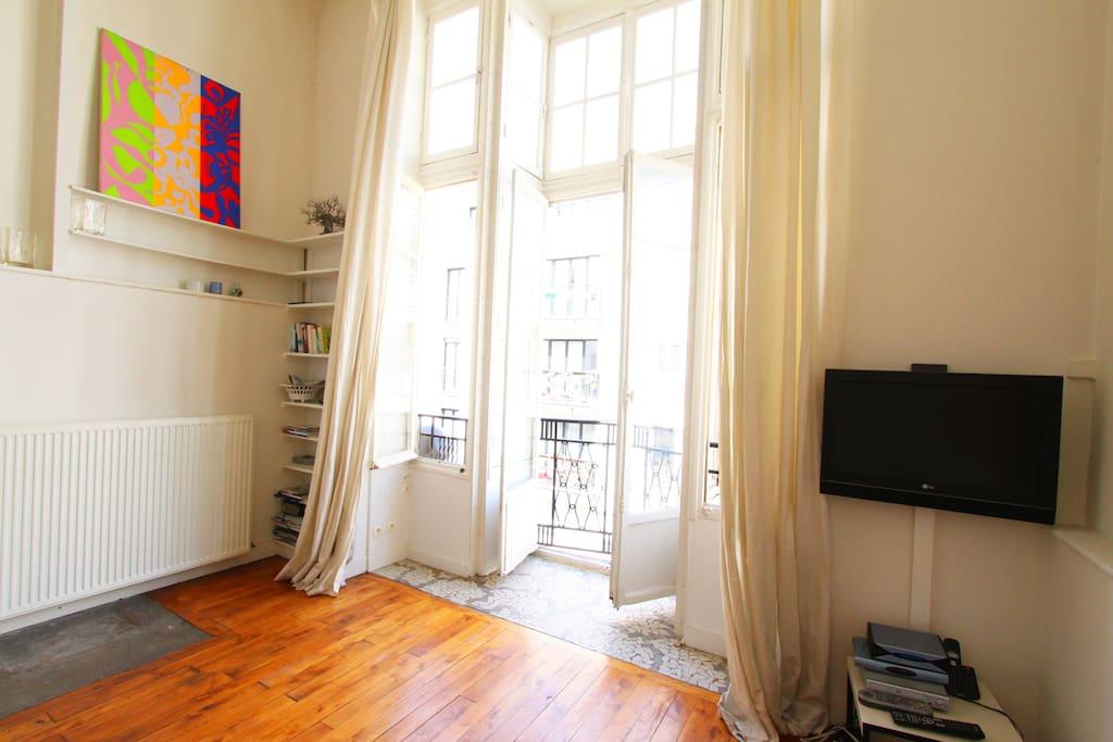 Artist's studio in Montparnasse