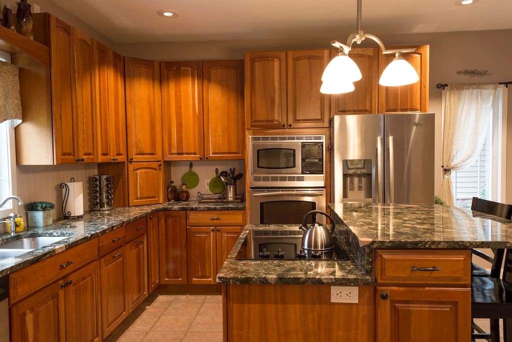 Kitchen with heated floors Photo by: Scottholmquistphotography@gmail.com