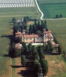 camera da letto matrimoniale tripla - Casteldidone - Slott