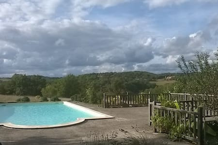 For rent charming house, Lot valley - Cajarc - House