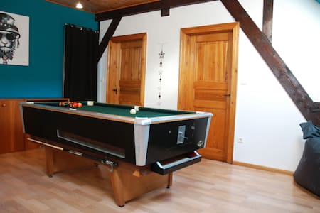 Cute guesthouse 120sqm, for 5 - Wuenheim - House