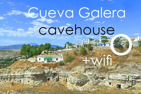 Cueva Galera cavehouse WIFI, views - House