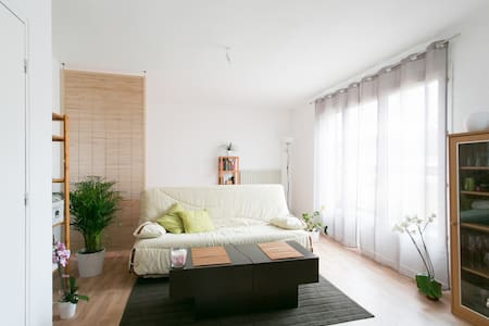 appartement lumineux et bien équipé