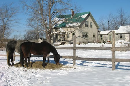 2 bdrms Century farmhouse ($65 per) - House