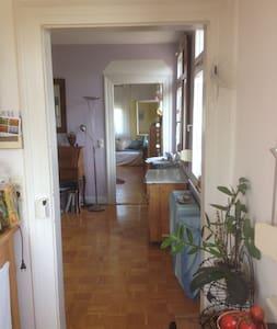 Wohnung mit Bergsicht 20 min vom Bodensee - Horgenzell - Apartment