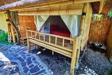 Amazing bamboo houses with NEW POOL in Canggu (B) - North Kuta - Treehouse