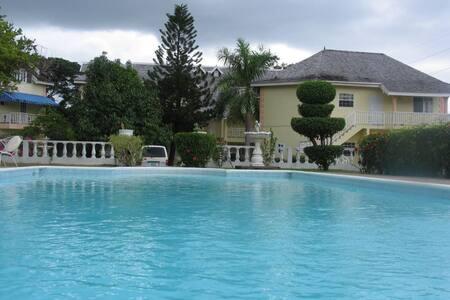 Ocho Rios Modern Studio With Pool - Ocho Rios - Apartment