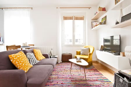 Bright and nice parisian flat - Apartemen