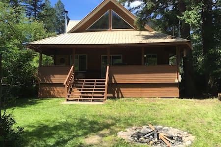 Cosy Tulameen cabin near beach - Okanagan-Similkameen H