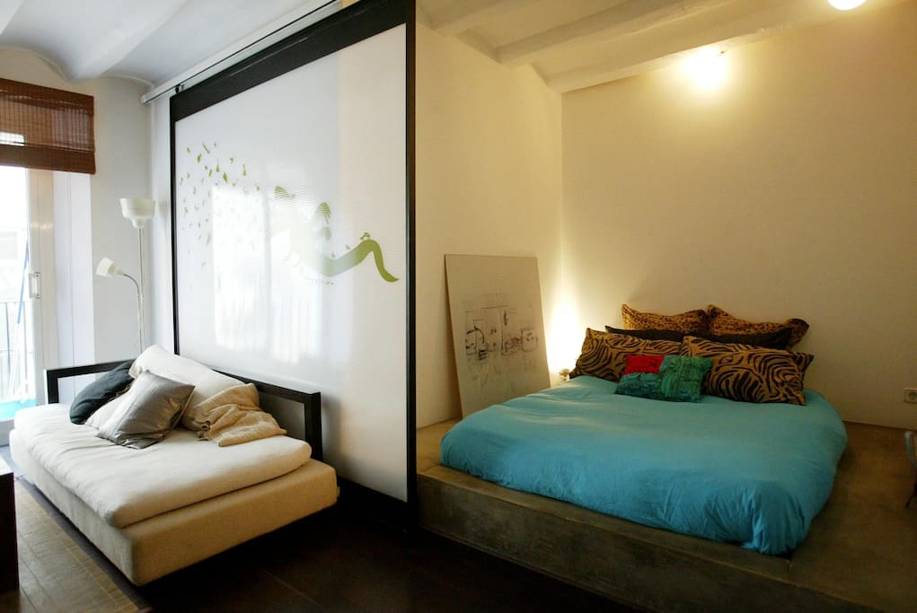 Loft in the center  Barcelona.Born