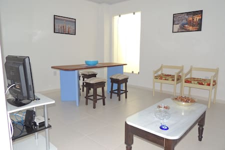 Our two-bedroom apartment is very cozy and comfortably seats four people. It has great location with easy access by car or public transport to the main attractions and city beaches. Price per day/4 guests.