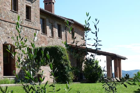 Charming house on the Umbrian hills. - Città della Pieve - Apartment