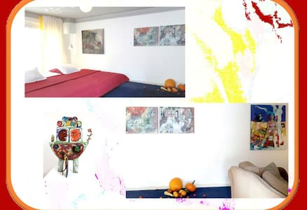 Do you like to stay in an artwork? - Bed & Breakfast