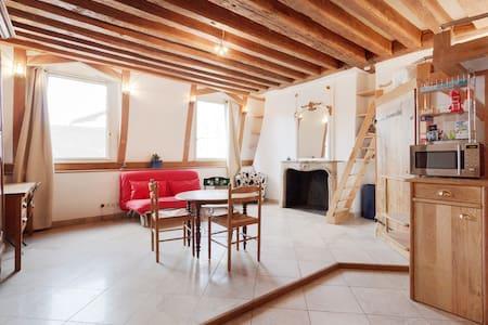 Romantic studio, Saint-Louis island