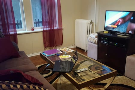 Cozy apt, great view, 15 min to NYC - West New York - Apartamento