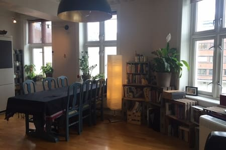 Supercentral, nice rooms, great neighbourhood - Oslo - Apartment