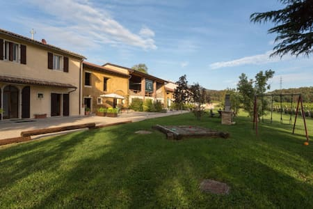 Rural apartment with pool - Rivoli Veronese - House
