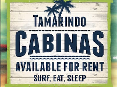 Beachfront!  Surf Eat Sleep! Tamarindo Cabinas # 5 - Tamarindo - Other