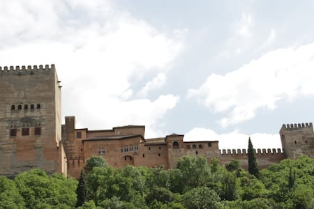 Room + wifi with Alhambra views. - Granada - Apartment