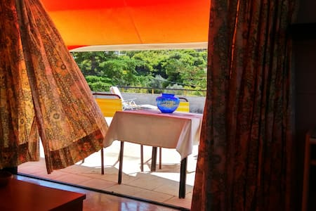 Relaxing seaview Studio with private terrace - Daire