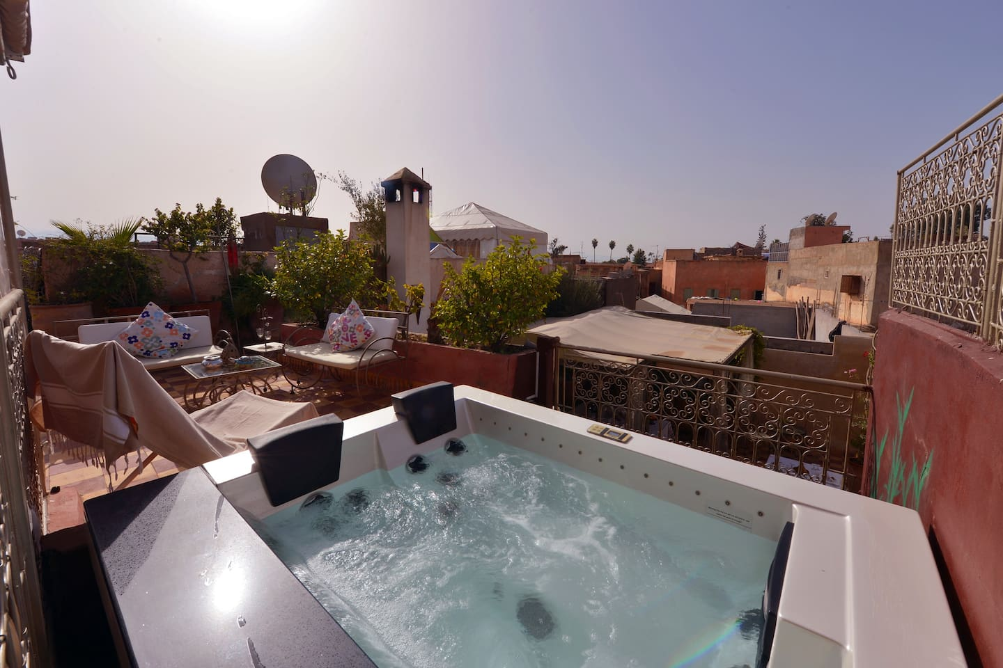 Riad with jacuzzi privatize