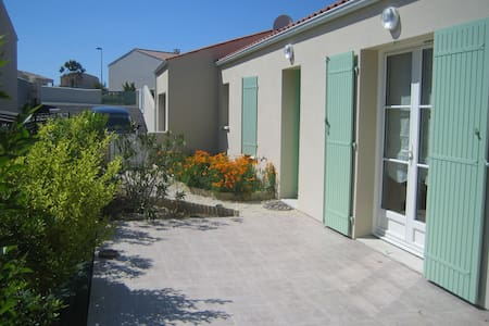 La Villa de l'Estran calme et mer - Port-des-Barques