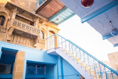 OLD HAVELI  JODHPUR, THE BLUE HOUSE - Jodhpur - Inap sarapan