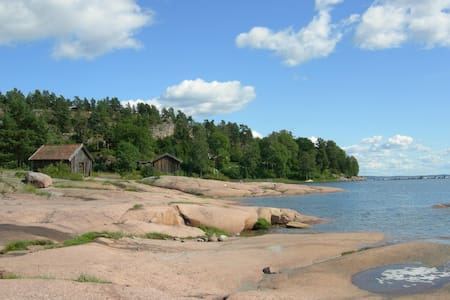 Holiday by the sea, close to Oslo - Sande - Kabin