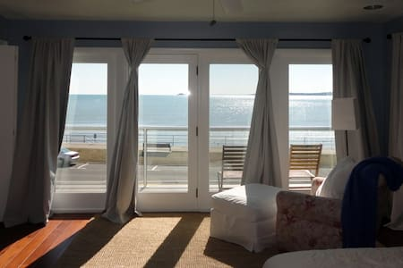 Master Suite looking over the ocean - Swampscott - House